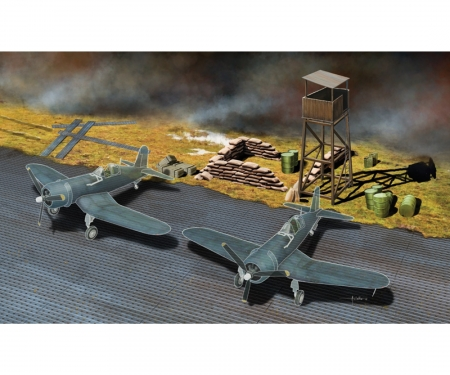 1:72 Pierced Steel Planking+accessories