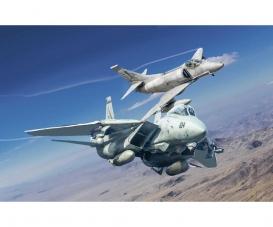 1:72 US NF F-14A vs A-4F
