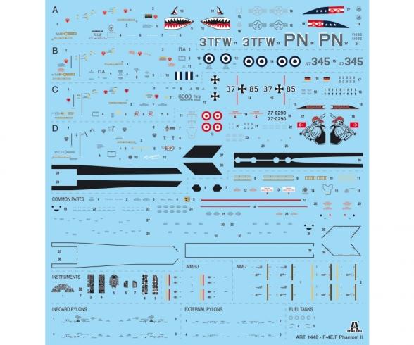 1:72 F-4E/F Phantom II