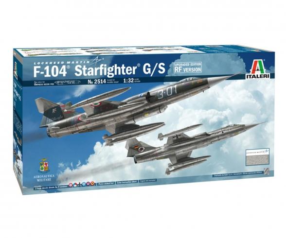 RF-104G Starfighter 510002514 Italeri 1:32 F-104G//S