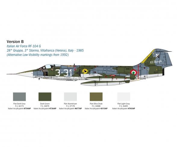 1:32 F-104G/S - RF-104G Starfighter