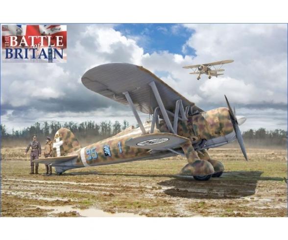 "1:48 FiatCR.42""Battle of Britain 80thA."""