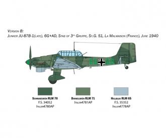 1:48 Junkers JU-87B Stuka Bat.o.Brit.
