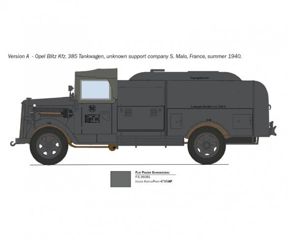 1:48 Sd.Kfz.385 Tankwagen Bat.o.Brit.