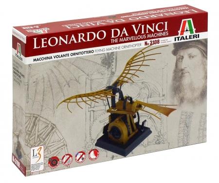 "ITALERI ""Leonardo Da Vinci"" Flying Machine ORNITHOPTER"