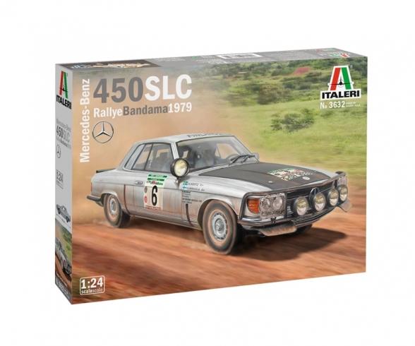 1:24 Mercedes 450 SLC Rally d Bandama'79