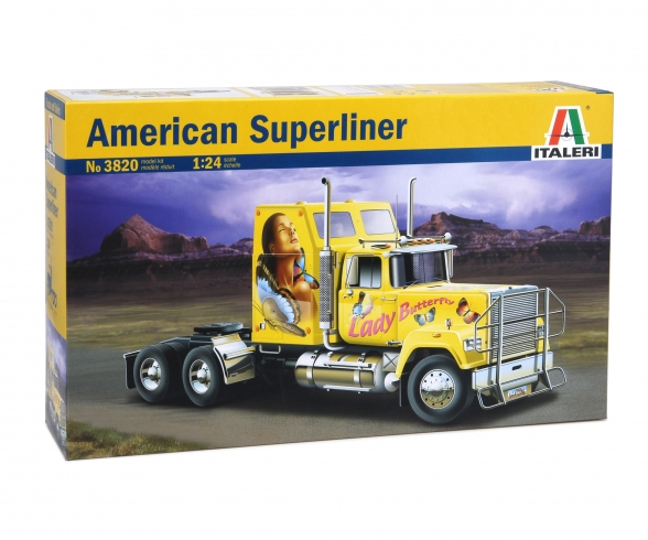 1:24 U.S. Superliner Power Truck