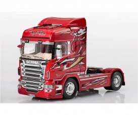 1:24 SCANIA R560 V8 Highline Red Griffin