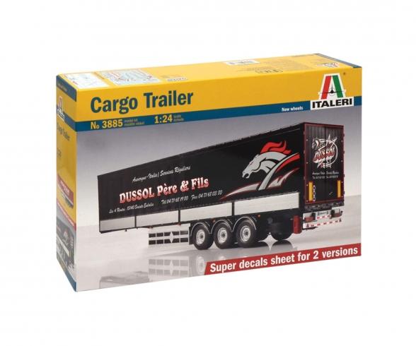 1:24 Cargo Auflieger