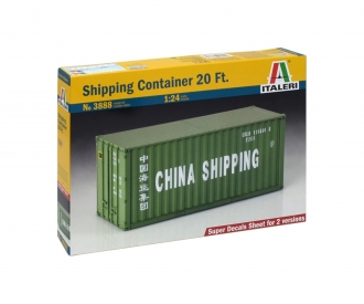1:24 Shipping Container 20FT