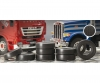 1:24 Truck Rubber Tyres (8x)