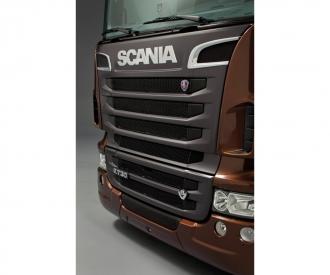 1:24 Scania R730 V8 Black Amber