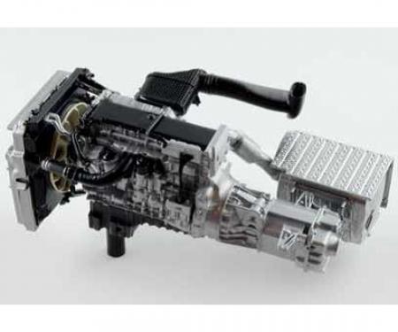1:24 Mercedes Benz Actros MP4 Gigaspace