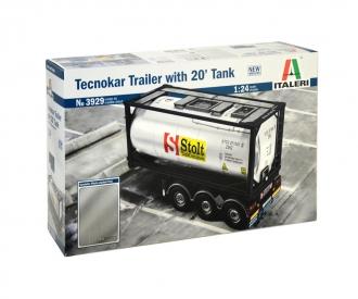 1:24 Tecnokar Trailer w/ 20ft Tank