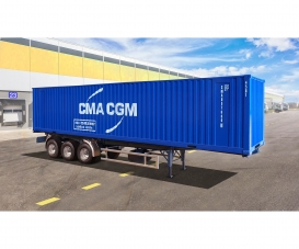 1:24 Container Auflieger 40Ft