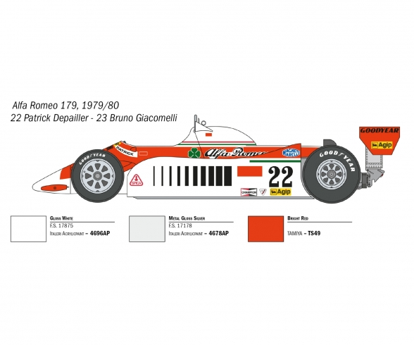 1:12 Alfa Romeo 179 / 179C