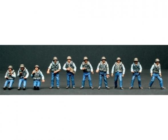 1:35 Figuren-Set Crew (10) ELCO 80 PT