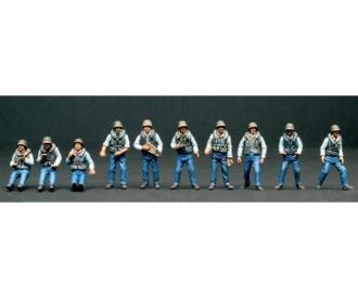 1:35 ELCO 80' PT Boat Crew