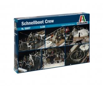 1:35 Figuren-Set Schnellboot Crew (10)