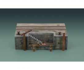 1:35 Dock mit Treppe