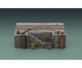 1:35 Dock with stairs