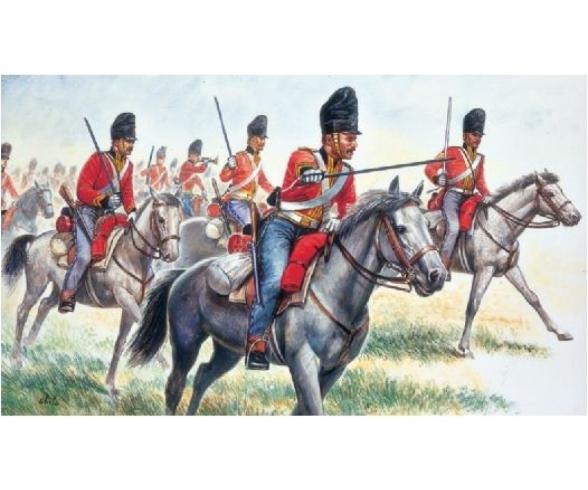 1:72 British Heavy Cavalry Napol. Wars
