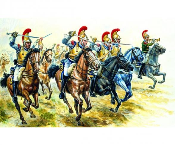 1:72 French Heavy Cavalry