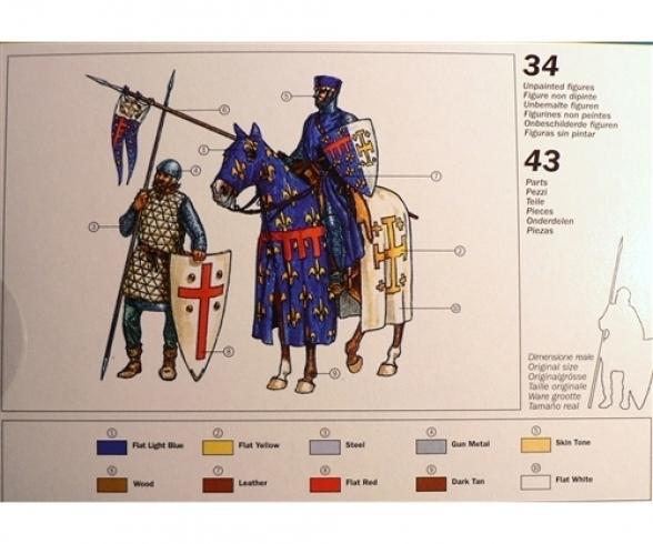 1:72 Die Kreuzritter 11. Jahrhundert
