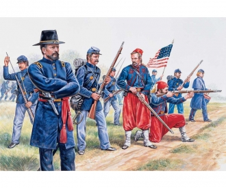 1:72 Union Infantry and Zuaves