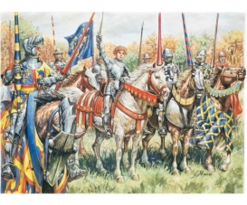 1:72 French Warriors (100 Years War)