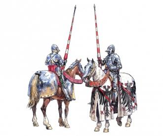 1:72 French Warriors (100 Years War)