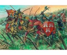 1:72 100-jähriger Krieg - Brit. Krieger