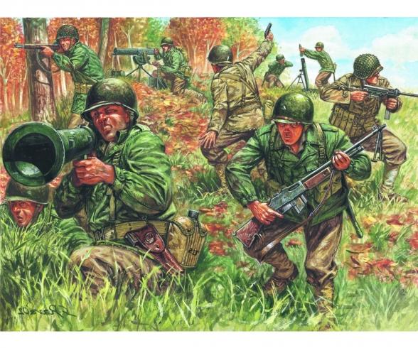 1:72 2nd WW American Infantry