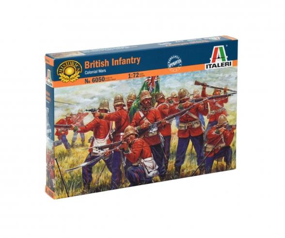 1:72 Zulu Wars: BRITISH INFANTRY