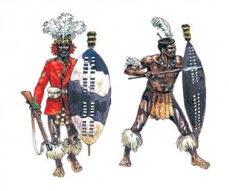 1:72 Zulu Wars: ZULU WARRIORS