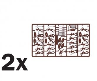 1:72 Zulu Wars - ZULU Krieger