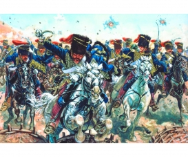 1:72 Crimean War - British Hussars