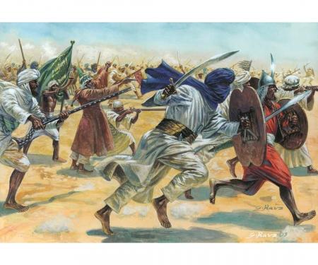 1:72 Arab. Warriors