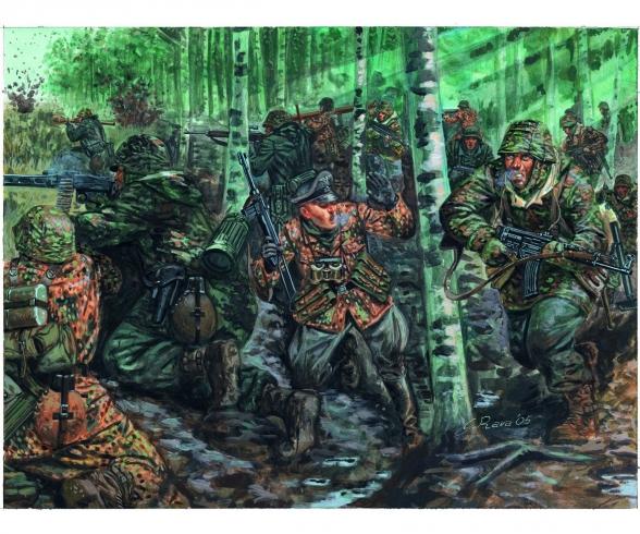 1:72 WW2 - German Elite Troops (SS)