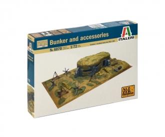 1:72 WWII - Zubehörteile und Bunker