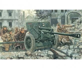 1:72 Rus. ZIS 3 Kanone mit Fig.