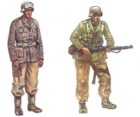 1:72 WWII Deutsche Afrika Korps