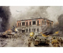 1:72 Diorama-Set Battle of Berlin 1945