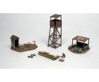 1:72 Schlachtfeld-Gebäude