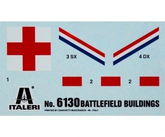 1:72 Battlefield Buildings