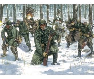 1:72 WWII U.S.Infanterie Winteruniform