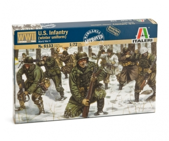 1:72 WWII U.S. Infantry Winter Uniform