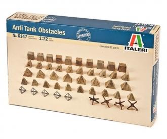 1:72 Antitank obstacles