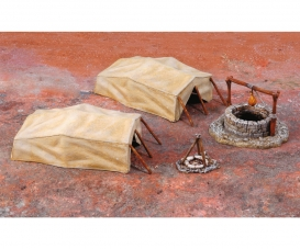 1:72 Desert Well and Tents