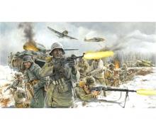 1:72 Fig.-Set  Ger. Infantry (Winter)